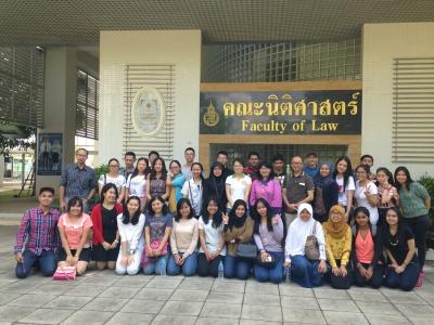 学系学生到泰国宋卡王子大学交流访问
